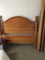 Queen headboard and footboard in Houston, Texas