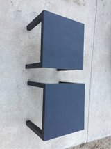 Two Small Black End Tables in Alamogordo, New Mexico