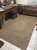 Area Rug 5' x7' Beige with Colored Accents in Alamogordo, New Mexico