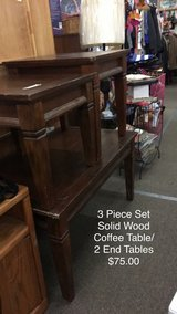 3 Piece Set - Coffee Table and Two End Tables in Fort Leonard Wood, Missouri