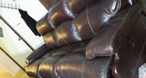 leather and motorized couch and recliner in Alamogordo, New Mexico
