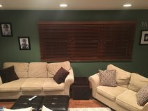 Microfiber couch and loveseat in Glendale Heights, Illinois