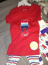 Two sets of pajamas size 5 (4 pieces) in Liberty, Texas