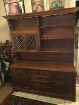 Large Vintage Sprague & Carleton Buffet and Hutch in Kingwood, Texas