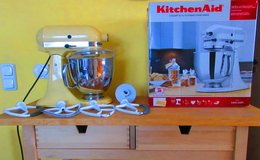 American 110 volt Kitchen Aid 5 quart mixer in Ramstein, Germany