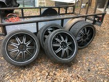 "22""rims and new tires in Kingwood, Texas"