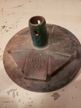Vintage Solid Cast Iron Base OLD HEAVY in Schaumburg, Illinois