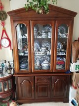 Classic Basset Broyhill type carved  wood Buffet Hutch in Fort Campbell, Kentucky