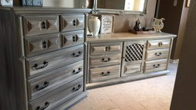 Rustic Dresser and Tall Chest in Houston, Texas