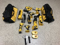 Dewalt 9 piece Kit brand new never used in Yucca Valley, California
