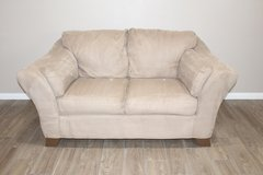 Tan Loveseat - Plush in Spring, Texas