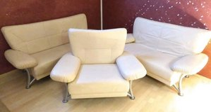 Creme couch set in Ramstein, Germany