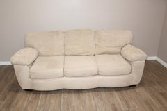 Microfiber sofa- Spacious comfortable seating! in Spring, Texas