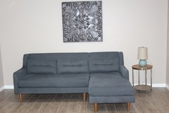 Retro WEST ELM SECTIONAL - Gray in Spring, Texas