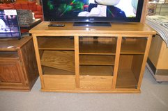 Large Tv Stand with storage below in Tacoma, Washington