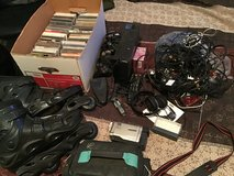 Clutter sale! CDs, Sony Camcorder, Rollerblades, Cords, PlayStation 2, Handheld TV, Other in Clarksville, Tennessee