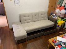 couch with 2 drawers in Okinawa, Japan