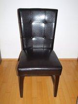 4 New Dining Chair (came with the place) in Wiesbaden, GE