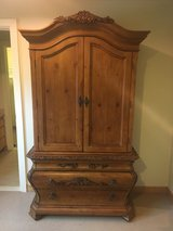 Hardwood Armoire and Dresser with Vanity in Okinawa, Japan