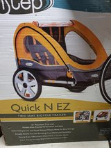 Quick N EZ bicycle trailer NEW- never opened in Ramstein, Germany