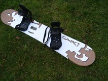 fairly new snowboard with bindings 153cm, Austria-Made in Ramstein, Germany