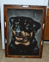 velvet painting picture rottweiler dog in Cochran, Georgia
