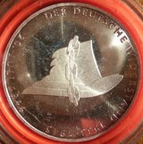1994A 10 DM Silver Coin German Resistance (Deutsche Widerstand) in Ramstein, Germany