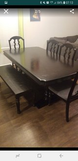 Dining table set in Fort Sam Houston, Texas