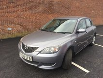 Mazda 3TS 2005 in Lakenheath, UK
