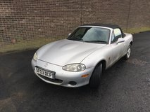 Mazda Convertible MX-5 2003 in Lakenheath, UK