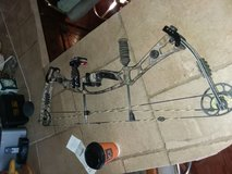 Hoyt hunting compound bow in Fort Bliss, Texas