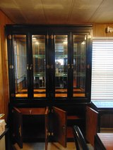 Japanese table, chairs, 2 curio cabinets and entry table in Fort Leonard Wood, Missouri
