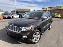 2012 JEEP GRAND CHEROKEE OVERLAND SPORT UTILITY V8 5.7 LITER in Clarksville, Tennessee