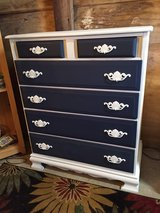 antique custom chalk painted maple chest in Cherry Point, North Carolina