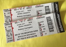 Rodney Carrington Tickets in Fort Bliss, Texas