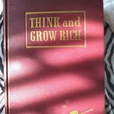 Nathaniel Hill think and grow rich  book 1940 mint condition in Bolingbrook, Illinois