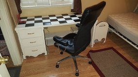 desk with chair in Travis AFB, California