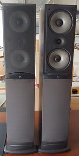 Infinity Reference 2000.5 Standing Floor Speakers and Center Speaker System in Fort Hood, Texas