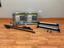 Thule racks for kayaks, bikes, skis and a square bar in Chicago, Illinois