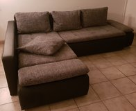 L-Couch + Bed/Storage + Delivery Included!!! in Ramstein, Germany