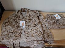 Desert marpat utility uniforms in Camp Pendleton, California