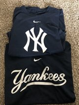Nike brand yankee shirts in Fort Campbell, Kentucky