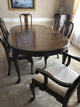 7 piece Cherry Dining room set in Baytown, Texas