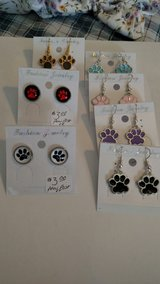 Dog Paw Earrings Post & Dangle in 29 Palms, California