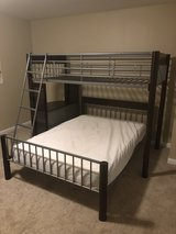 Bunk Bed Twin over Full with Desk Attached in Fort Leonard Wood, Missouri