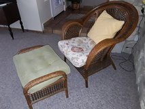 Pier 1 imports chair and ottoman in 29 Palms, California