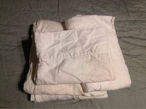 White Twin Sheet Set in 29 Palms, California