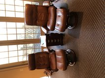 Ekornes Stressless leather chair and ottoman in Perry, Georgia