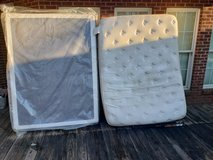 Queen Size Mattress With Box Spring! in Macon, Georgia