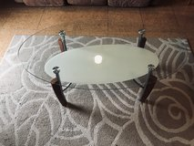 Glass Coffee Table & End Table in Okinawa, Japan